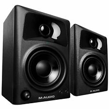 M-Audio AV32 Studio Monitor & Multimedia Desktop Music Production Speakers Pair