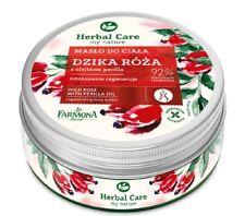 Wild Rose Regenerating Body Butter with Perilla Oil Farmona Herbal Care 200 ml