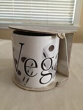 Vintage Starbucks City Coffee Mug Las Vegas Dice 20 oz.1994
