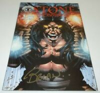 Stone the Awakening #1 Comic Avalon Studios SIGNED Brian Haberlin 1st Print