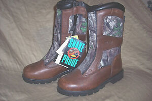 Womens 4 Snake Boots Waterproof Boots Hunting Boots Snake Proof Boots