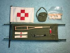 Vintage 1960's GI Joe Action Marine Deluxe Medic Set