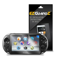 4X EZguardz Screen Protector Skin HD 4X For Sony Playstation Vita Slim (Clear)