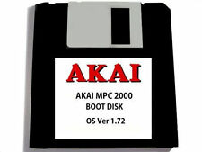 Akai MPC 2000 Operating System Disk OS Ver 1.72 Floppy Disk Boot Disc