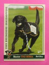 2009 MultiAd Sports, Greensboro Grasshoppers. Bat Boy - MASTER YOGI BERRA