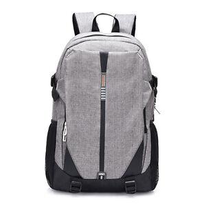 Nylon Backpack Bag 14.1Inch Laptop Notebook Mochila Waterproof Back Pack Men's
