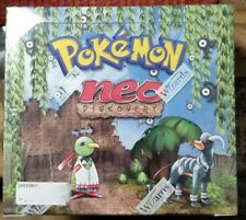 pokemon neo discovery unlimited booster box NM!   NOT 1st edition