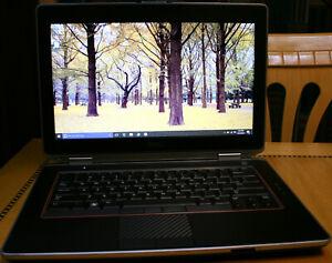 Dell Latitude Laptop Windows 10 Pro 8GB SUPER FAST 256GB SSD / 3 YEAR WARRANTY