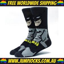 Batman Dress Socks - Cotton, Superhero, DC Comics *FREE WORLDWIDE SHIPPING*