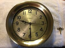 Chelsea Ships Clock nfrom 1937 Great Lakes Steamship Tanker