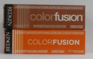 REDKEN Color Fusion NATURAL FASHION  Professional Permanent Hair Color ~ 2 fl oz