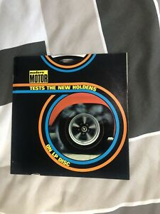 Modern motor test the new Holden on 7 inch record