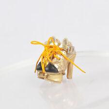 "Sherry Gold Shoes for 12"" Fashion Royalty natalia Poppy Parker,Dg,Momoko 2Fr6."