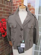 Manteaux et vestes verts coton pour femme