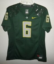 NEW WOMENS M MEDIUM NIKE OREGON DUCKS FOOTBALL JERSEY #6 MIGHTY OREGON NCAA