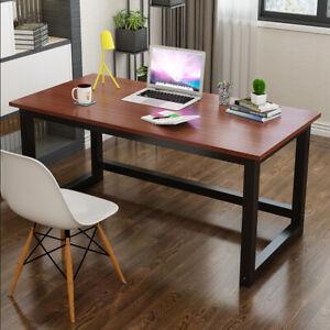 Computer Desk Home Office Desks Table Student Study Workstation Metal 120x60cm