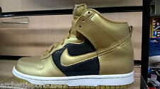 NIKE WMNS DUNK HIGH GOLD  BLCK force one air jordan