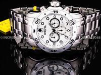 Invicta Men PRO DIVER SCUBA CHRONOGRAPH Silver Dial Bracelet 48mm SS Watch