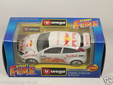 [PG3-11] BBURAGO BURAGO 1/43 STREET FIRE #4174 FORD FOCUS RALLY RED BULL NEW