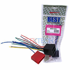 BHA7303 Aftermarket Radio Replacement Wire Harness for Hyundai/Kia Vehicles