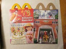 2002 McDonald's Happy Meal BOX MATCHBOX MADAME ALEXANDER