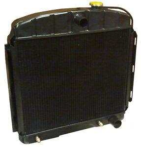 COPPER & BRASS 1955 & 1956 Chevrolet radiator 4 core Big Block radiator