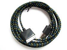 FABRIC 3FT 6FT 10FT USB Data CHARGING CABLE CORD for iPHONE 4S 4 3G IPOD TOUCH 4