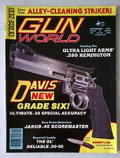 GUN WORLD FIRE ARMS AMMO WEAPONS RIFLES MAGAZINE 9MM .45 1987 SEPTEMBER DAVIS 38