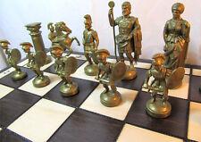 Schach Sehr schönes Schachspiel SPARTAN Schachbrett 49x49 cm KH 100 mm