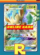 Leafeon GX - Regular Art - for Pokemon TCG Online ( ptcgo in Game Card)