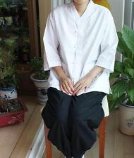 Men women 100% cotton shirt pants Buddhist Zen meditation clothing, yoga clothes