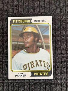 1974 Topps #252 Dave Parker Rookie NRMT Pirates HOF