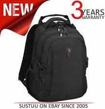 "Wenger 16"" Sidebar Deluxe Laptop Backpack/ Bag Padded Back Panel & Handle Black"