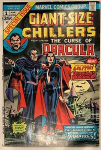 (1974) Giant-Size Chillers #1 1st Appearance & Origin Lilith Dracula's Daughter