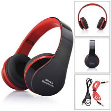 Foldable Bluetooth Wireless Headset Stereo Headphone Earphone for iPhone Samsun