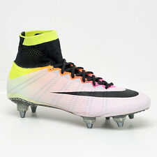 New Nike Mercurial Superfly SG ACC Soccer Cleats White - Mens 7 / Womens 8.5
