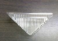 Sandwich Wedge Container Triangle Catering Takeaway Hinged Large Food Clear New
