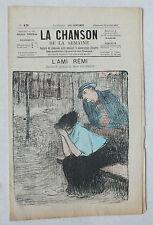 LA CHANSON DE LA SEMAINE - N° 13 - L AMI REMI - ANNEES 1890 - 1910 *