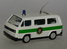 Conrad Scale 1/43 - VW T3 Bus Polizei grün/weiß