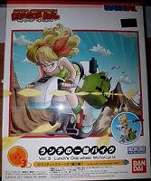 Dragon Ball Vol. 3 Lunch (Laura) One-Wheel Moto - Bandai Kit 5cm 55215 - Nuovo