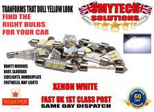 FORD FIESTA MK 6 2002-2008 INTERIOR/EXTERIOR XENON WHITE LED LIGHTS UPGRADE