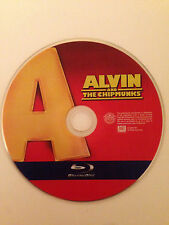 Alvin and the Chipmunks (Blu-ray Disc, 2009) Blu Ray Disc Only- Replacement Disc