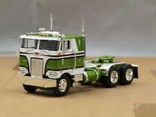 Dcp green/white Peterbilt 352 cabover tractor new no box.
