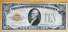 1928 Ten Dollar Gold Certificate **STAR NOTE** Fr. 2400*