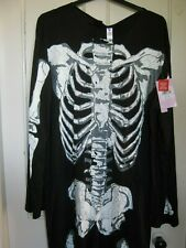 MENS HALLOWEEN SKELETON COSTUME/FANCYDRESS SIZE L-XL LARGE EXTRA LARGE NEW BNWT