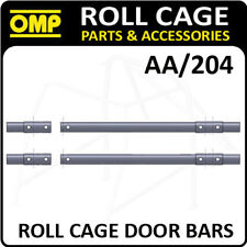 AA/204 OMP ROLL CAGE DOOR BARS 1.25m 40x2mm + NUTS/BOLTS - FIA APPROVED!