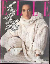 ▬►Elle 1978 (1983) JENNIFER BEALS_GIULIETTA MASINA_HANNA SCHYGULA_MODE FASHION