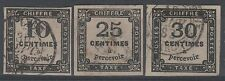 "FRANCE STAMP TIMBRE TAXE N° 2 + 5/6 "" CHIFFRE 10c+25c+30c "" OBLITERES TB   N658"