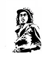High Detail Aerografo Stencil giovane Bob Marley spedizione gratuita nel Regno Unito
