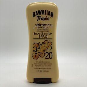 Hawaiian Tropic Shimmer Effect Sunscreen Lotion SPF 20, 6 fl oz